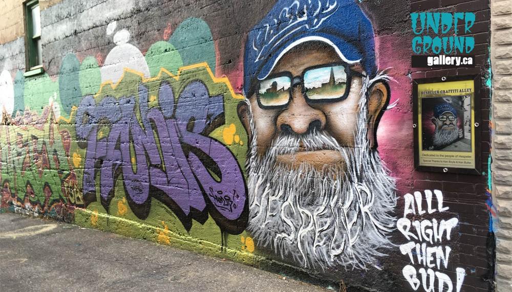 HESPELER graffiti walls